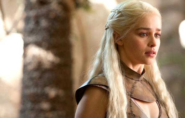 Картинка актриса, Игра Престолов, Game of Thrones, Emilia Clarke, Daenerys Targaryen, Эмилия Кларк, Дейенерис Таргариен