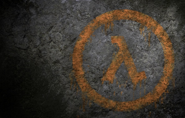 Картинка логотип, графити, Half-Life, Logo, Game, Lambda, Халф-Лайф, Spray