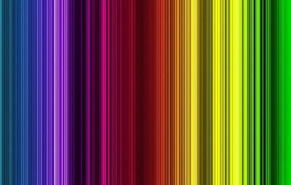 Картинка линии, цвет, спектр, Фон
