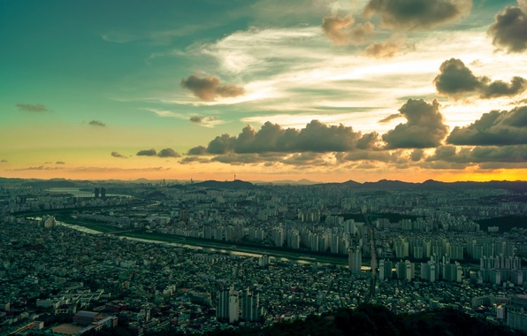 Картинка город, South Korea, Seoul