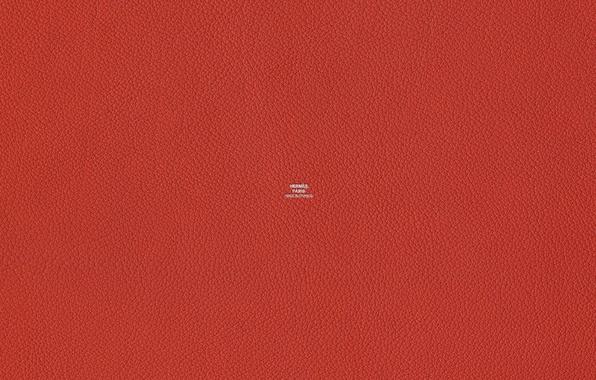 Картинка красный, цвет, текстура, кожа, Hermes