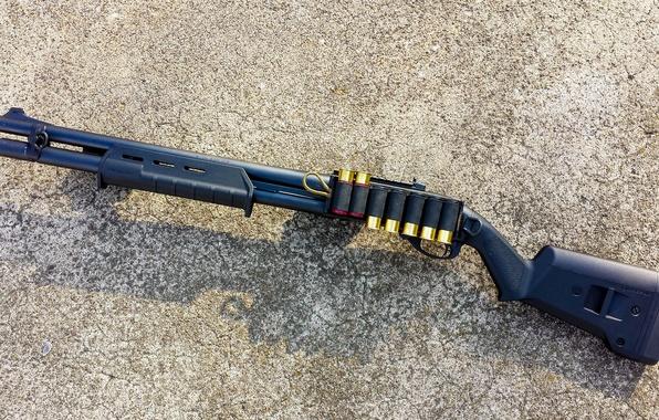 Картинка оружие, ружьё, помповое, Remington 870