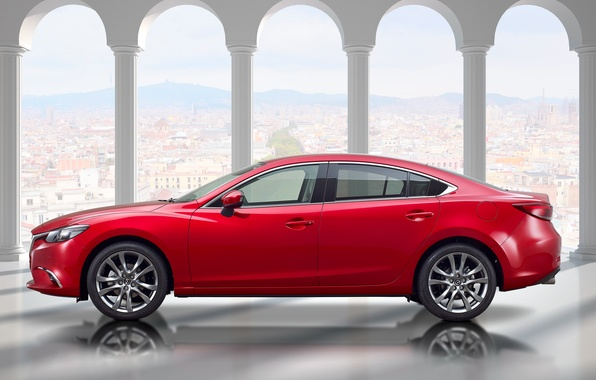 Картинка Mazda, седан, мазда, Sedan, 2015