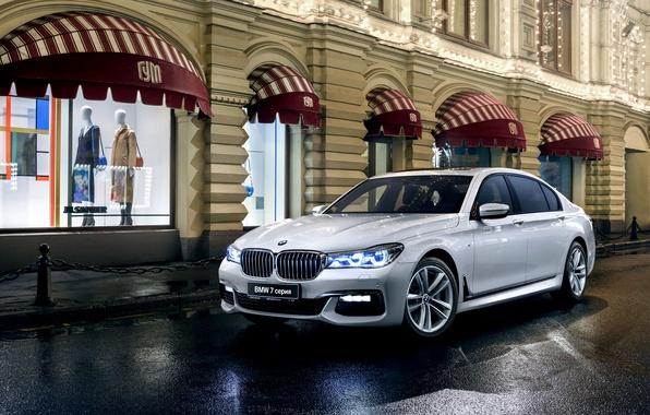 Картинка бмв, BMW, седан, xDrive, 7-Series, G12