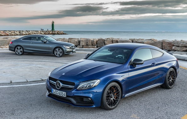 Картинка купе, Mercedes-Benz, мерседес, Coupe, C-Class, C205