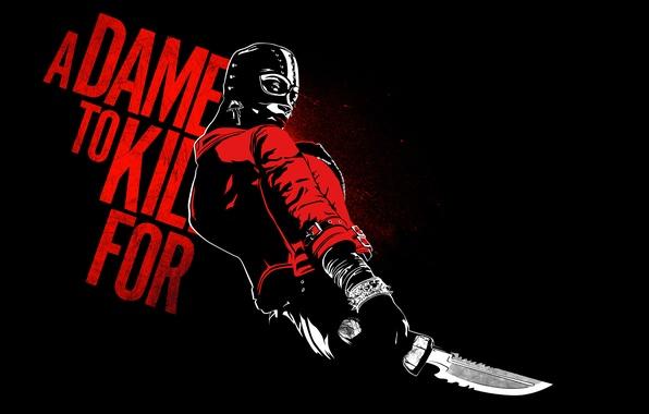 Картинка маска, Rosario Dawson, A Dame to Kill For, Sin City 2, Gail
