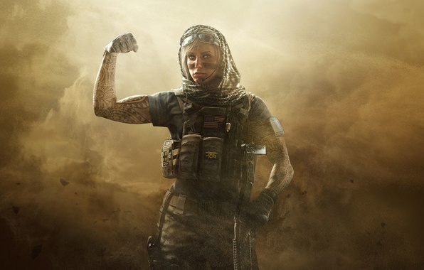 Картинка Полиция, Оружие, Ubisoft, Коп, Спецназ, Экипировка, Ubisoft Entertainment, Полицейский, Ubisoft Montréal, Бронежилет, Tom Clancys, Арафатка, …