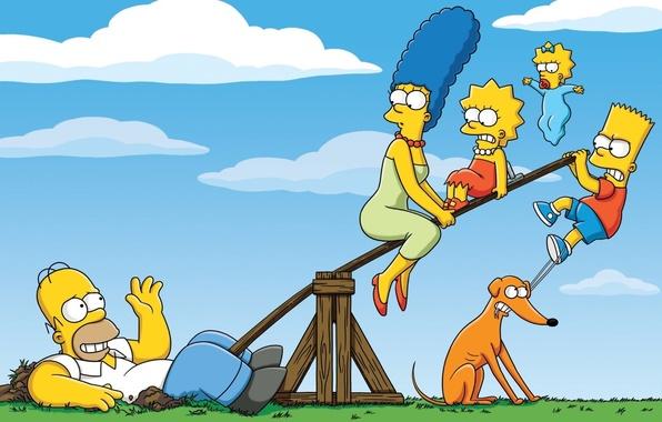 Картинка Симпсоны, The Simpsons, Homer Simpson