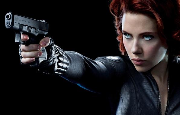 Картинка Scarlett Johansson, Скарлетт Йоханссон, marvel, Black Widow, Чёрная вдова, Natasha Romanoff, Наташа Романофф, Мстители, The …
