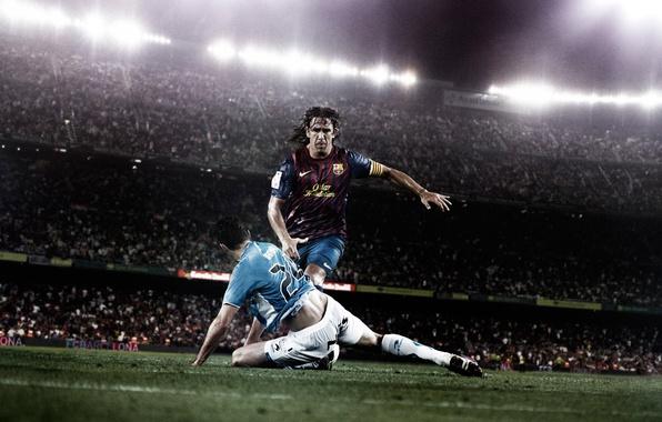 Картинка футбол, барселона, barcelona, пуель