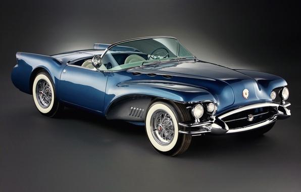 Картинка Concept, 1954, Buick, бьюик, вилдкат, Wildcat II