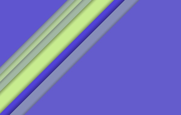 Картинка Android, Purple, Design, 5.0, Line, Colors, Lollipop, Stripes, Abstraction, Material