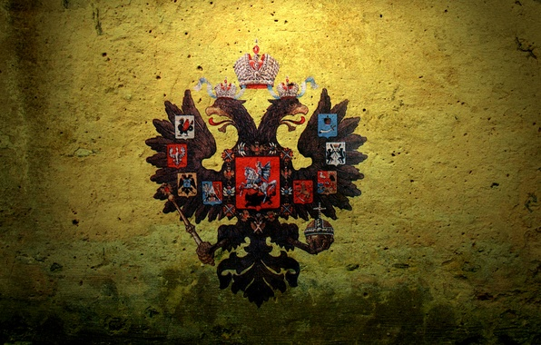 Фото обои двуглавый орел, герб, Russian Empire, Российская Империя