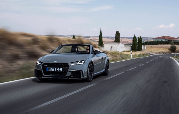 Картинка дорога, car, Audi, ауди, road, Quattro, speed, RS, TT