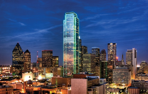 Картинка city, город, USA, США, Texas, Даллас, Dallas, Техас