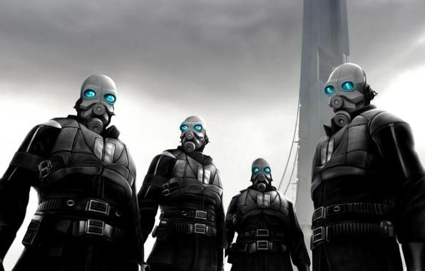 Half Life 2 Combine Wallpaper: Обои Combine, Half-life 2, цитадель картинки на рабочий