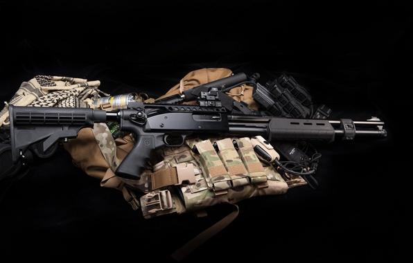 Картинка оружие, ружьё, экипировка, помповое