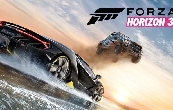 Картинка Lamborghini, Game, Centenario, Forza Horizon 3