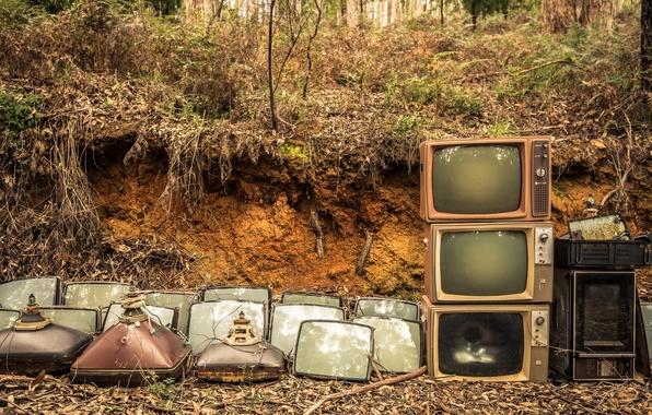 Картинка фон, телевизоры, кинескопы