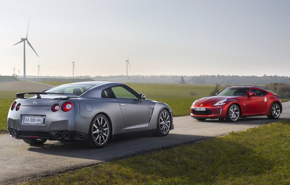Фото обои Z370, Nissan GT-R, R35