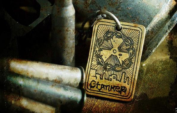 Картинка медальон, stalker, сталкер