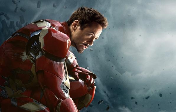 Картинка Action, Metal, Fantasy, Clouds, Sky, Hero, the, Steel, Iron Man, and, Wallpaper, Guns, Super, Boy, …