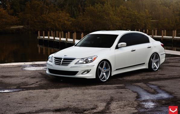 Картинка Hyundai, Vossen, Wheels, Genesis