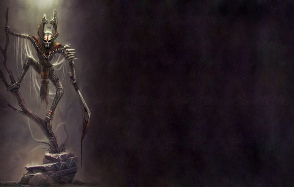 Картинка mask, knife, creature