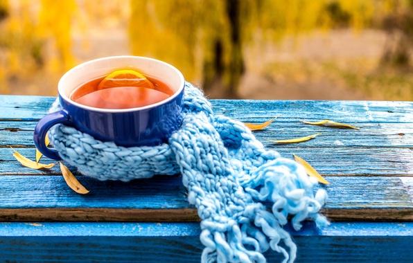 Чашка чая обои на рабочий стол