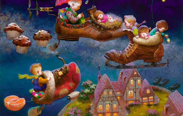 Картинка детство, волшебство, колыбельная, виктор низовцев, дедушкины сказки