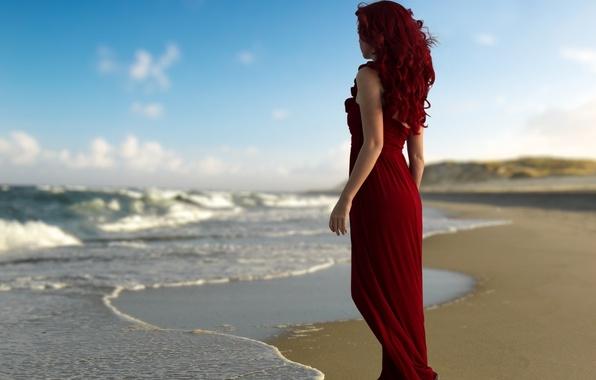 Фото на закате у моря девушек