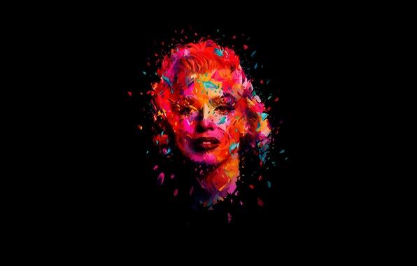 Картинка лицо, модель, актриса, певица, мерлин монро, Marilyn Monroe