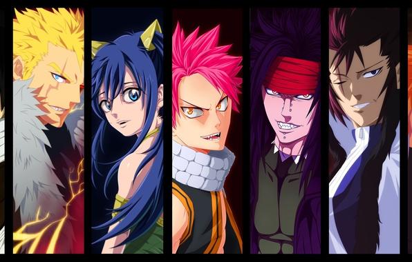 Картинка girl, game, woman, Snake, anime, Cobra, man, boy, dragon, asian, manga, japanese, Fairy Tail, Natsu ...