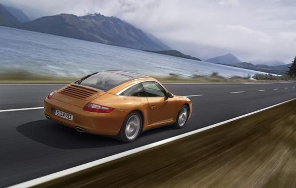 Картинка дорога, авто, путь, движение, скорость