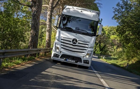Картинка Mercedes-Benz, грузовик, мерседес, 2011, Actros