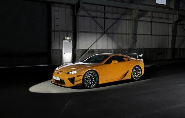 Картинка Lexus, лексус, LFA, Nürburgring