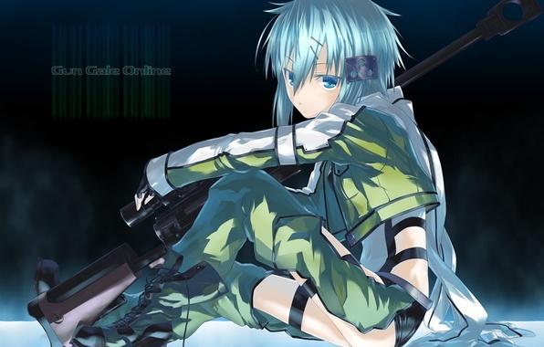 аниме искусство оружия онлайн картинки: