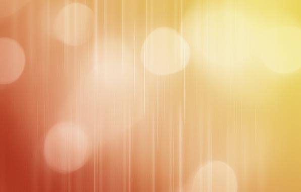Картинка линии, оранжевый, абстракция, цвет, градиент, кружочки