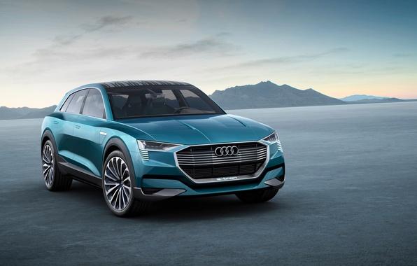 Картинка Audi, ауди, concept, концепт, quattro, 2015, e-trn