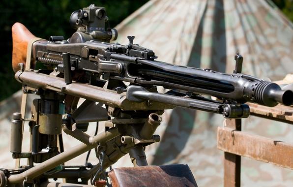 Maschinegewehr 42 Wallpaper: Обои оружие, войны, пулемёт, немецкий, мировой, Второй
