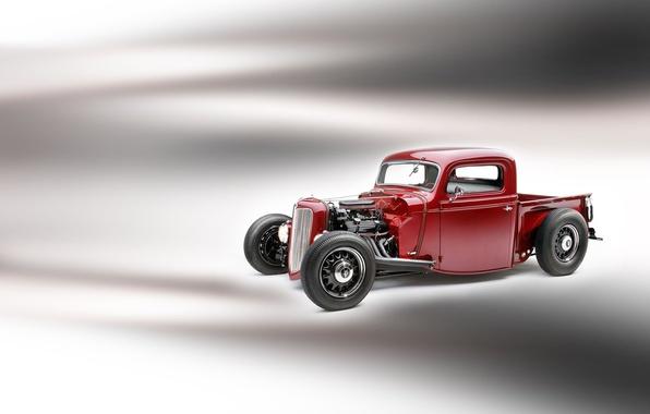 Картинка Ford, автомобиль, Hot, Pickup, 1935, Rod