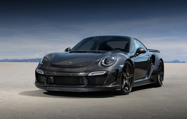Картинка 911, Porsche, GTR, порше, Turbo, TopCar, 991, Carbon Edition, 2015, Stinger