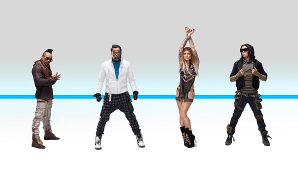Картинка Fergie, The Beginning, Will.i.am, Black Eyed Peas, Apl.de.ap, Taboo