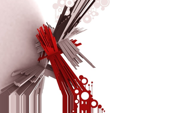 Картинка линии, красный, абстракция, палки