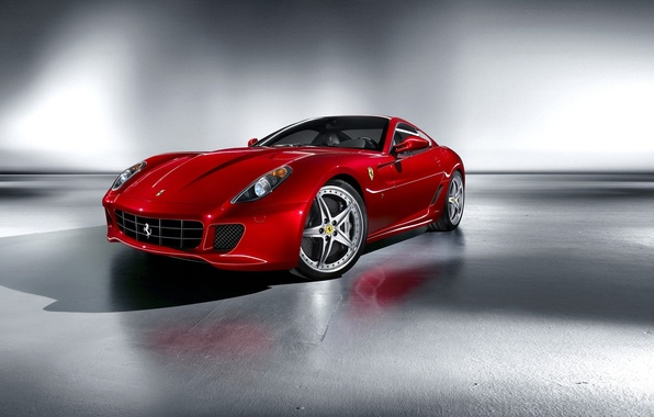 Картинка красный, Ferrari, спорт-кар, Fiorano