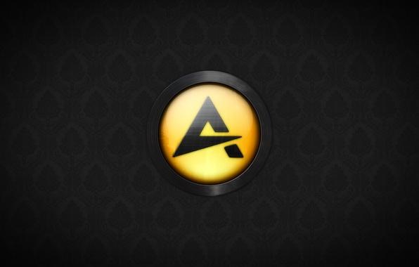 Картинка значок, проигрыватель, бренд, aimp