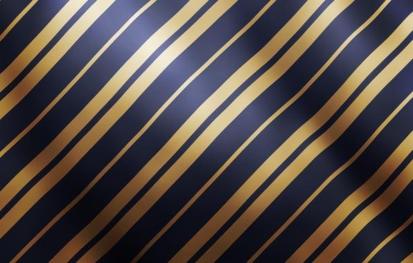 Картинка линии, синий, желтый, полосы, блеск, текстура, золотой, атлас
