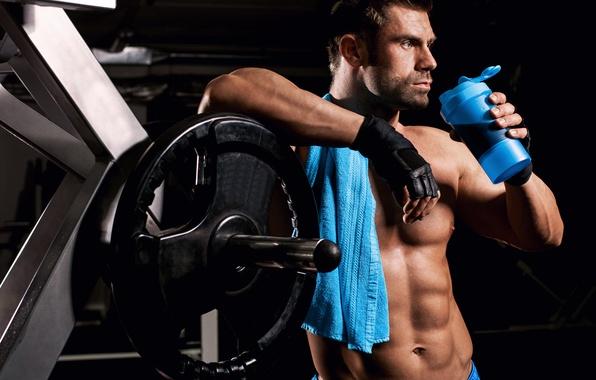 Картинка muscles, pose, gym, training, abs