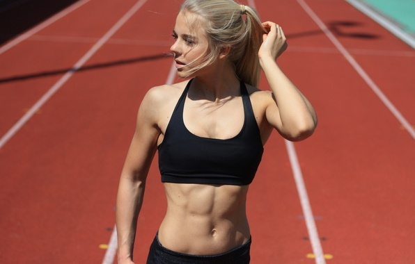 athletic girls fucking abs