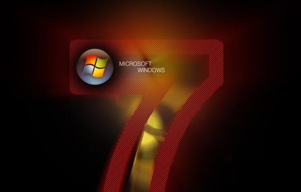 Картинка надпись, цифра, windows, logo